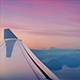 Flying Over Mountains And Lakes At Dawn - VideoHive Item for Sale