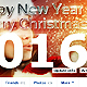 Happy New Year And Merry Christmas Fb Cover - GraphicRiver Item for Sale