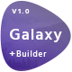 Galaxy - Responsive Email + Online Builder - ThemeForest Item for Sale