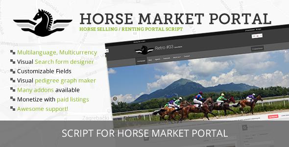 Horse Market Sell & Rent Portal