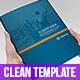 Clean Idea _ InDesign Busines Brochure Template - GraphicRiver Item for Sale