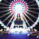 Blurry View on Paris Ferris Wheel During Christmas - VideoHive Item for Sale