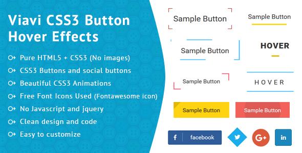 Viavi CSS3 Button Hover Effect