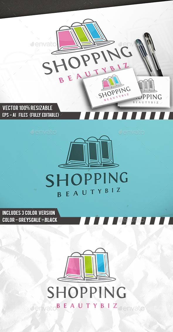 Shopping Logo Template