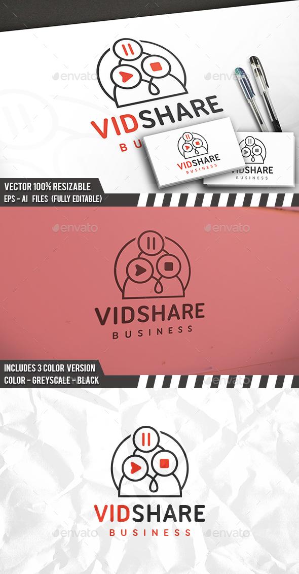 Video Share Logo