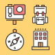 70 Travel Icons - GraphicRiver Item for Sale