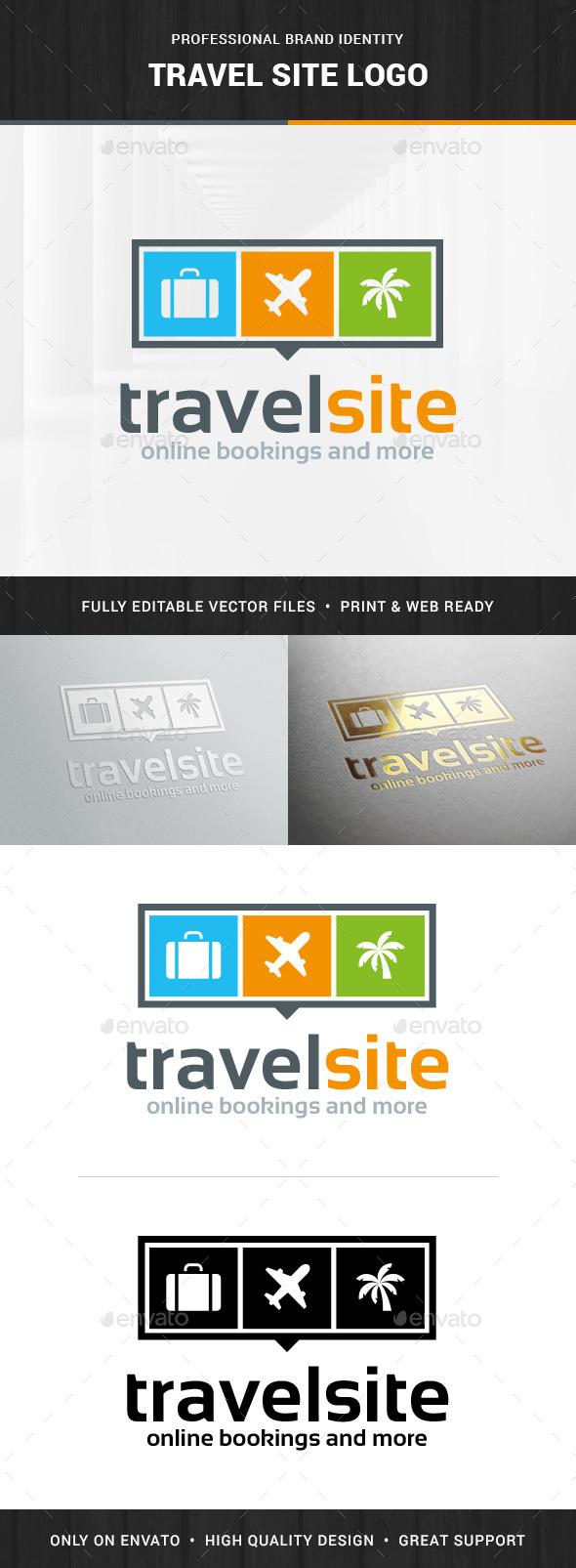 Travel Site Logo Template