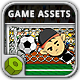Crazy Freekick Game Assets - GraphicRiver Item for Sale