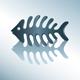 Vector fish skeleton - GraphicRiver Item for Sale