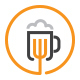 Food And Beer Logo - GraphicRiver Item for Sale