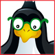 Set of icons with penguins - GraphicRiver Item for Sale