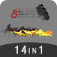 Minimal Ink&fire Logo/Title Reveals Package - VideoHive Item for Sale