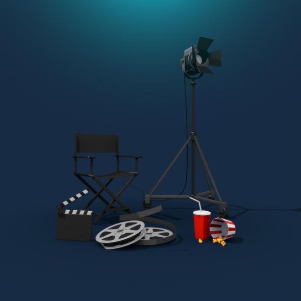 Popcorn CG Textures & 3D Models from 3DOcean