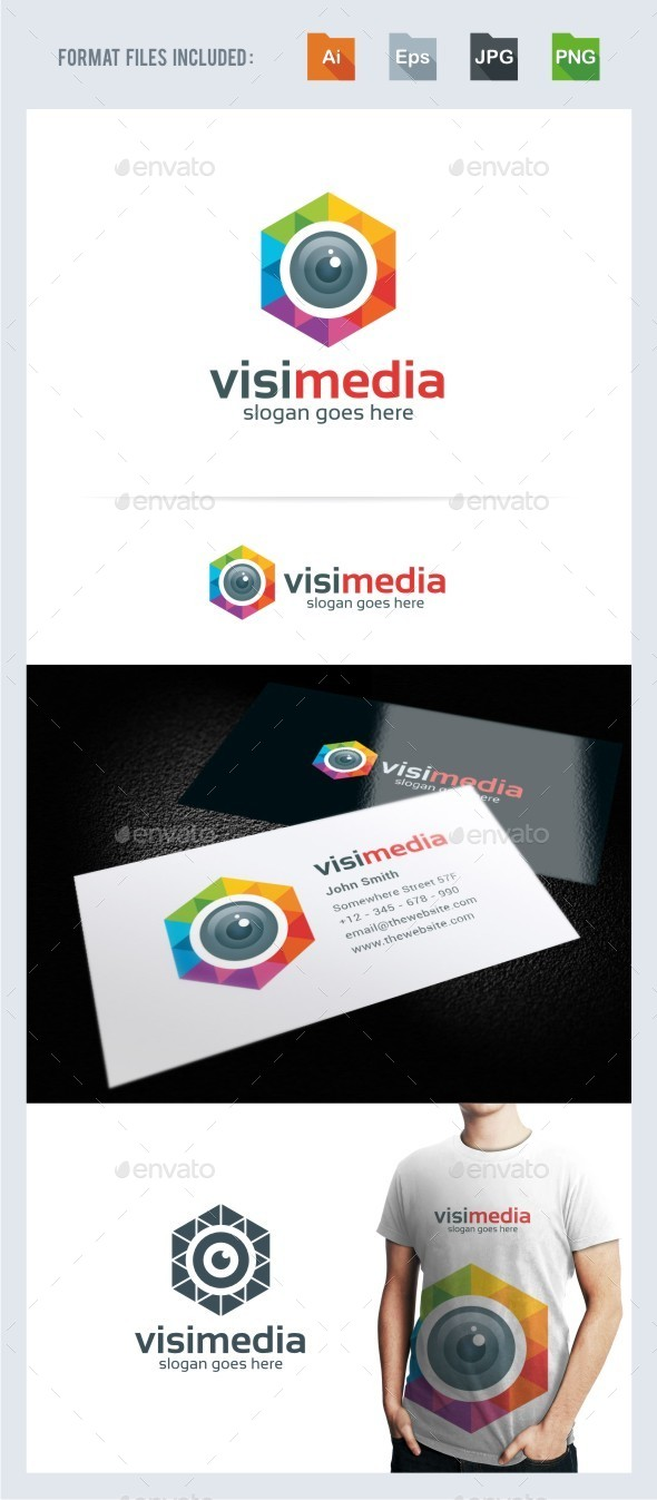Vision Media - Photography Logo Template