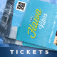 Event Tickets Template XIII - GraphicRiver Item for Sale