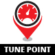 Tune Point Logo - GraphicRiver Item for Sale