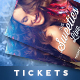 Event Tickets Template XIV - GraphicRiver Item for Sale