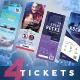 Event Tickets Bundle 4 - GraphicRiver Item for Sale