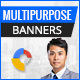 Multipurpose GWD Ad Banner - 7 Sizes