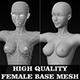 High Quality Female Base Mesh - 3DOcean Item for Sale