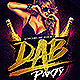 Dab Party Flyer PSD - GraphicRiver Item for Sale