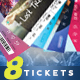 Event Tickets Master Pack - GraphicRiver Item for Sale