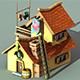 Fisherman House Model1 - (fablesalive game asset) - 3DOcean Item for Sale