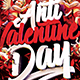 Anti Valentine's Day Flyer Template - GraphicRiver Item for Sale