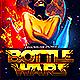 Bottle Wars Flyer PSD - GraphicRiver Item for Sale