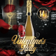 Hypnotic Valentine's Day Party Flyer Template - GraphicRiver Item for Sale