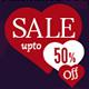 Valentine's Day Sale Banner - GraphicRiver Item for Sale