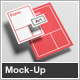 Floating Stationery Mock-Up  - A4, A5, Business Card - GraphicRiver Item for Sale