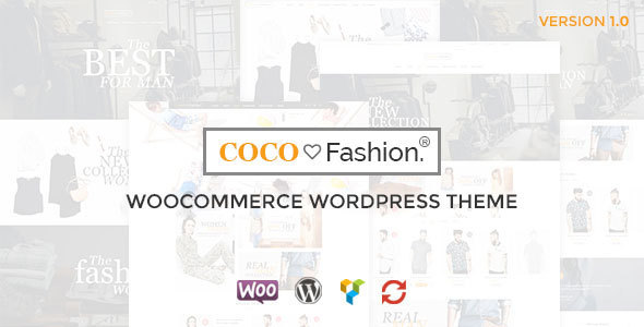 Coco - Fashion Responsive WordPress Theme