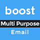 Multi Purpose E-Newsletter PSD Template - Boost - GraphicRiver Item for Sale