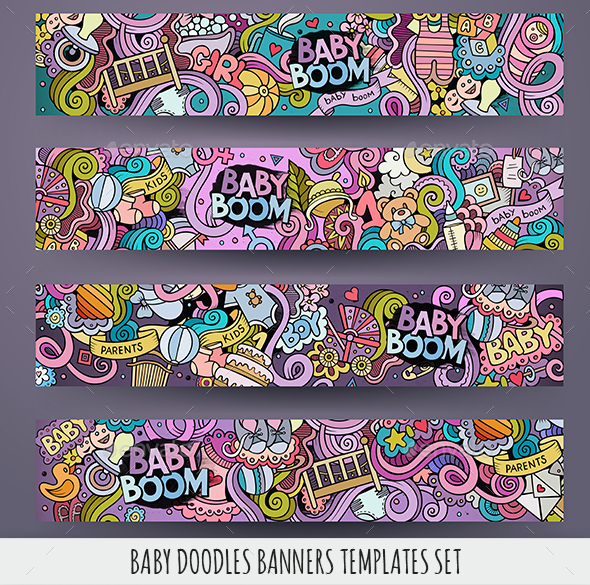 Baby Banners Design Templates