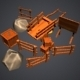 10 Units of Low Polygon Obstacles - 3DOcean Item for Sale