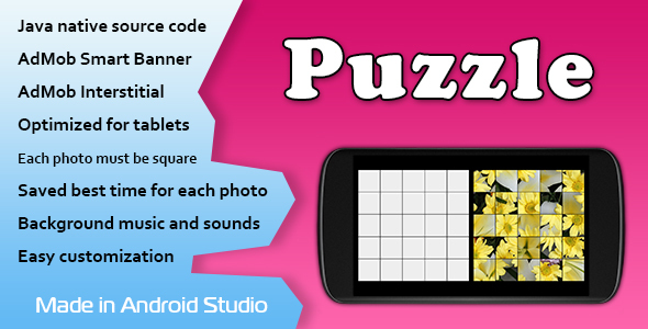 Puzzle Game with AdMob Download