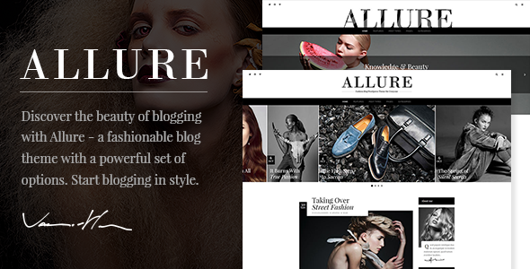 Allure - Beauty & Fashion Blog Theme