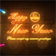 Neon lights logo - VideoHive Item for Sale
