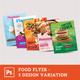 Restaurant Food Flyer - GraphicRiver Item for Sale