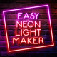 Easy Neon Lights Maker - VideoHive Item for Sale
