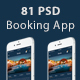 Booking Mobile App Ui - GraphicRiver Item for Sale