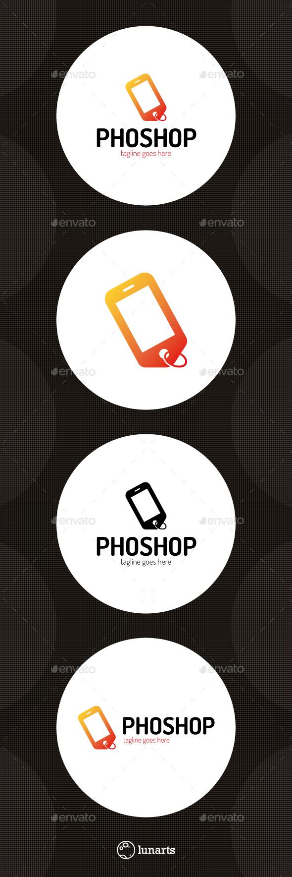 Mobile Shop Logo
