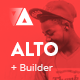 Alto - Modern Email Template + Builder 2.0 - ThemeForest Item for Sale