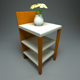 Night Stand + Vase - 3DOcean Item for Sale