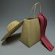 Straw Hat + Bag - 3DOcean Item for Sale