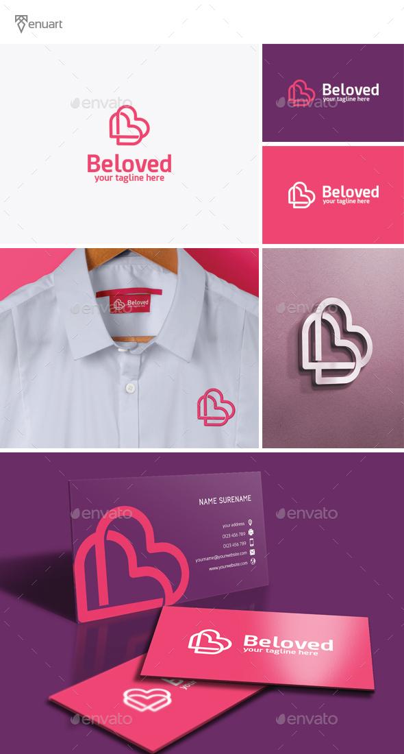Beloved - Letter B Logo