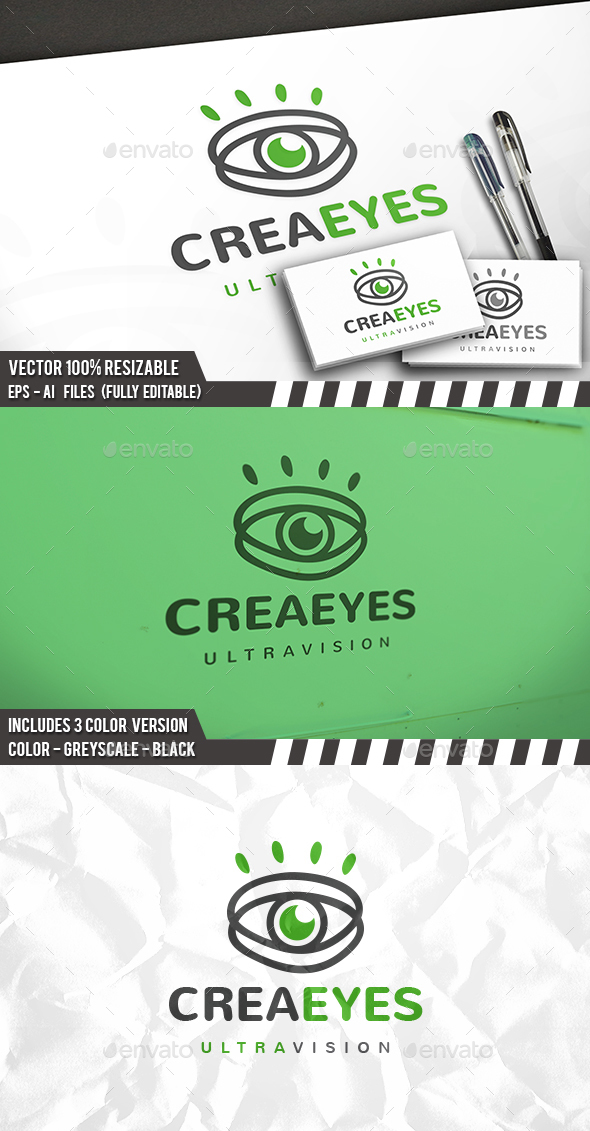 Creative Eye Logo