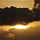Black Cloud Sunrise 03 - VideoHive Item for Sale