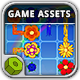 Flowers Game Assets - GraphicRiver Item for Sale